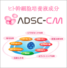 ヒト幹細胞培養液ADSC-CM